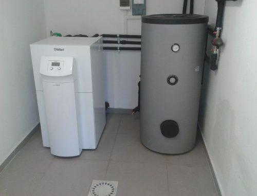 Ugradnja podnog grijanja i dizalice topline u Kutini